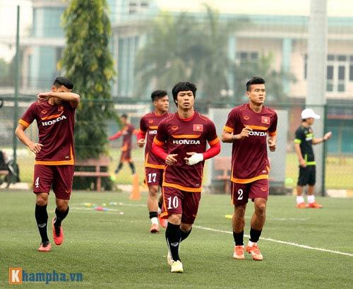 U23 Việt Nam: Tuấn Anh tập riêng, Công Phượng đau tay - 3