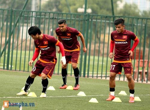 U23 Việt Nam: Tuấn Anh tập riêng, Công Phượng đau tay - 5