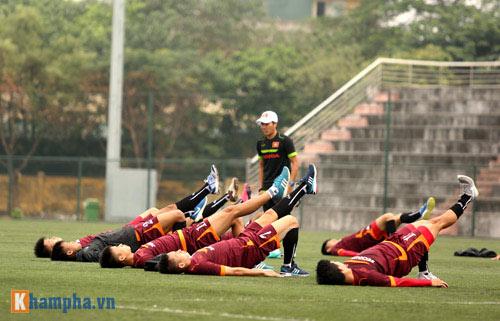 U23 Việt Nam: Tuấn Anh tập riêng, Công Phượng đau tay - 1