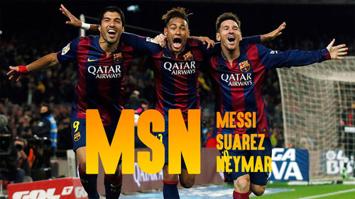 """Tròn 1 năm """"MSN"""" cùng ghi bàn: Tam tấu vĩ đại - 1"""