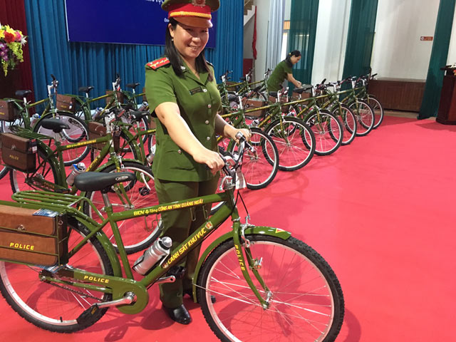Cảnh sát Quảng Ngãi sẽ tuần tra bằng xe đạp đặc chủng - 2