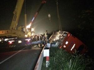 Tin tức trong ngày - 4 nạn nhân bị bỏ sót trong vụ tai nạn cao tốc Pháp Vân