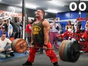 Thể thao - Siêu khỏe: 1 phút, lực sĩ nâng gần 10 tấn