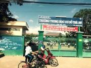 Tin tức Việt Nam - Còng tay học sinh THCS, bảo vệ dân phố phải xin lỗi