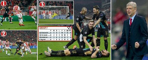 """Giroud hóa """"Chúa Giê-su"""", Arsenal thoát hiểm ngoạn mục - 1"""