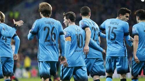 """Tiễn Leverkusen, Enrique hài lòng với """"gà nhà"""" - 1"""