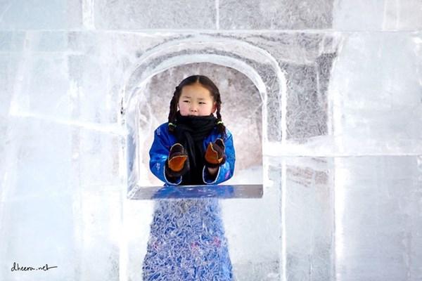 Mùa đông trắng trên thảo nguyên Mông Cổ - 9