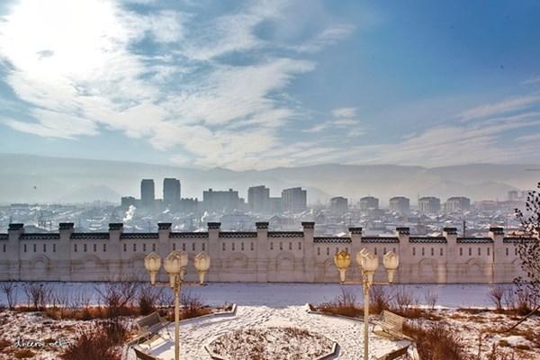 Mùa đông trắng trên thảo nguyên Mông Cổ - 8