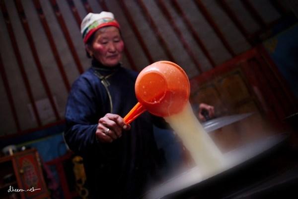 Mùa đông trắng trên thảo nguyên Mông Cổ - 6