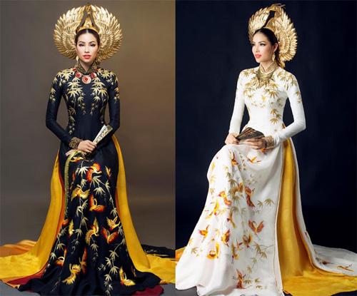 1449718596 1449717839 viet nam 4661 1449653025 1449678143363 Đối thủ của Phạm Hương đốt mắt với trang phục dân tộc