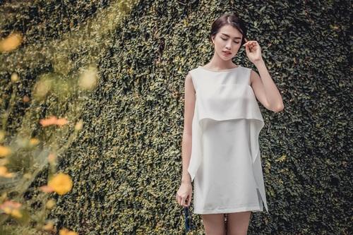 1449718796 1449716927 untitled 10440 Diện váy suông xuống phố thời trang như á hậu Lệ Hằng