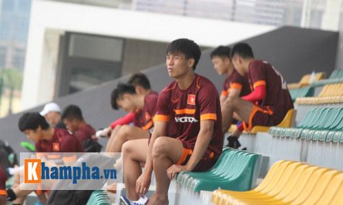 """Xuân Trường trở lại, U23 VN """"bở hơi tai"""" đá đối kháng - 11"""