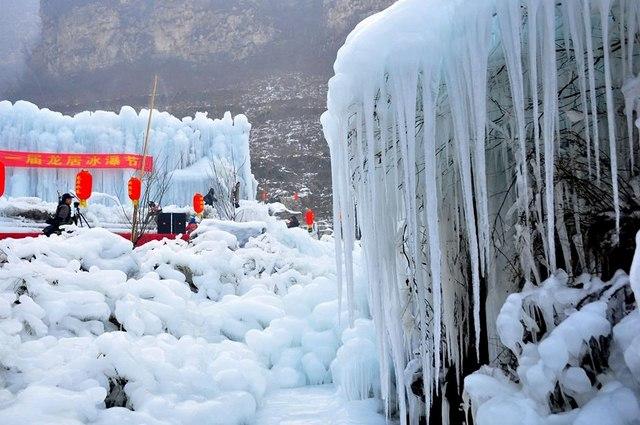 Đẹp mê hồn cảnh thác nước đóng băng ở Trung Quốc - 2