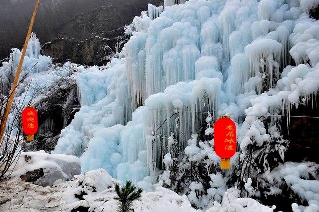 Đẹp mê hồn cảnh thác nước đóng băng ở Trung Quốc - 3