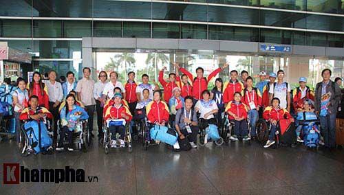 Đoàn thể thao NKT Việt Nam trở về trong chiến thắng - 1