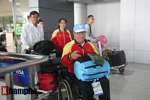 Đoàn thể thao NKT Việt Nam trở về trong chiến thắng - 4
