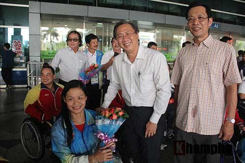 Đoàn thể thao NKT Việt Nam trở về trong chiến thắng - 8