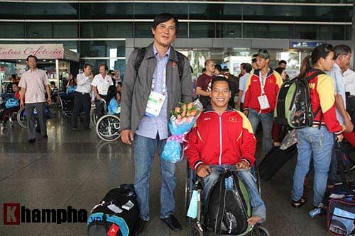 Đoàn thể thao NKT Việt Nam trở về trong chiến thắng - 10