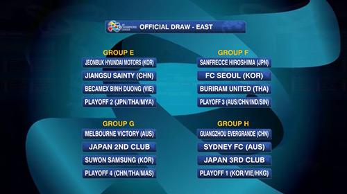 """""""Chelsea VN"""" tái đấu nhà vô địch Hàn Quốc ở C1 châu Á - 1"""