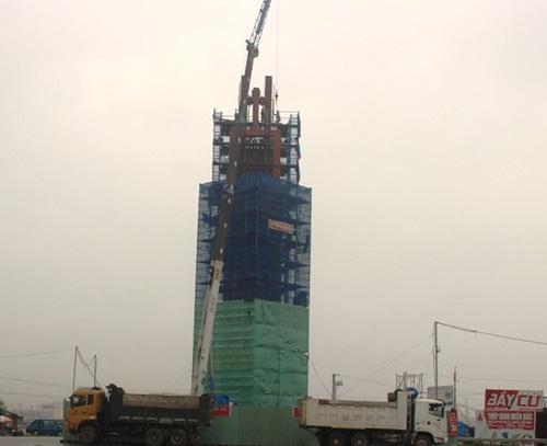 """Formosa xây """"Tháp tinh thần"""" cao 32m không phép - 1"""