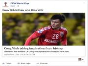 Bóng đá - Công Vinh được FIFA chúc mừng sinh nhật