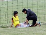 Bóng đá Việt Nam - U23 VN: Tuấn Anh chấn thương đầu gối, nghỉ 2 tuần