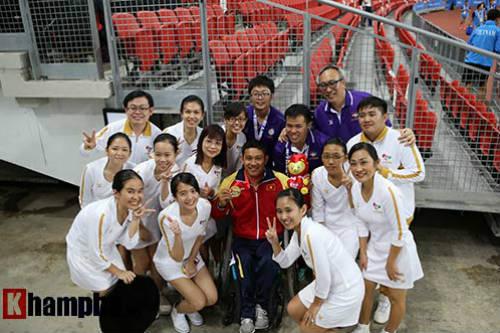 Hình ảnh cảm động của VĐV Việt Nam tại Para Games - 11
