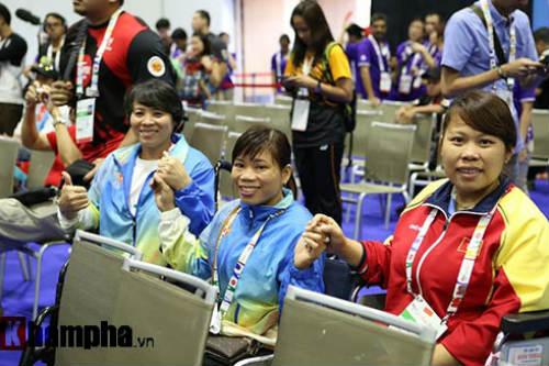 Hình ảnh cảm động của VĐV Việt Nam tại Para Games - 14