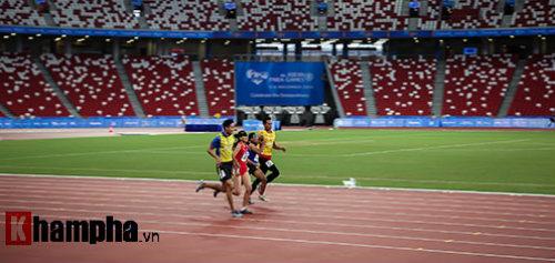 Hình ảnh cảm động của VĐV Việt Nam tại Para Games - 2