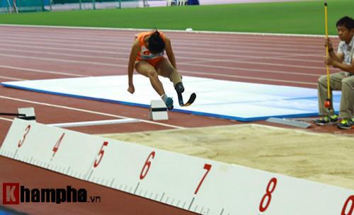 Hình ảnh cảm động của VĐV Việt Nam tại Para Games - 9