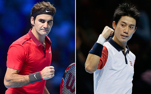 Federer, Nishikori tranh pha đỉnh nhất 2015 - 1