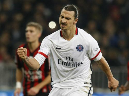 Ibra sút góc hẹp lọt top 5 bàn đẹp nhất V17 Ligue 1 - 1