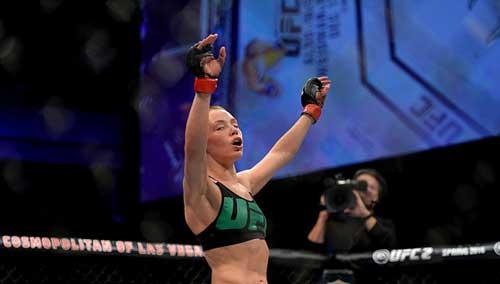 """Tranh đai hạng lông, """"Hoa khôi"""" UFC bị đánh bầm dập - 7"""