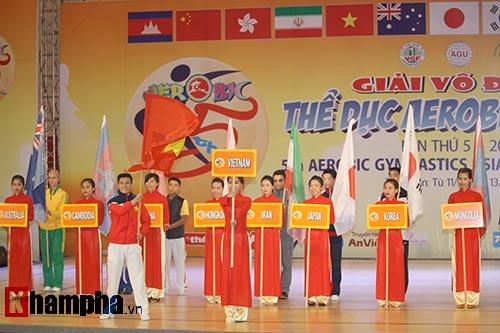 Bị sự cố nhạc, VĐV nhí VN vẫn dẫn đầu vòng loại Aerobic châu Á - 1
