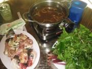 Ẩm thực - Lẩu cá vồ đém nấu mẻ ngon gọi mời ngày cuối tuần