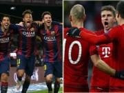 Bóng đá - Ứng viên vô địch C1: Sự vượt trội của Barca & Bayern