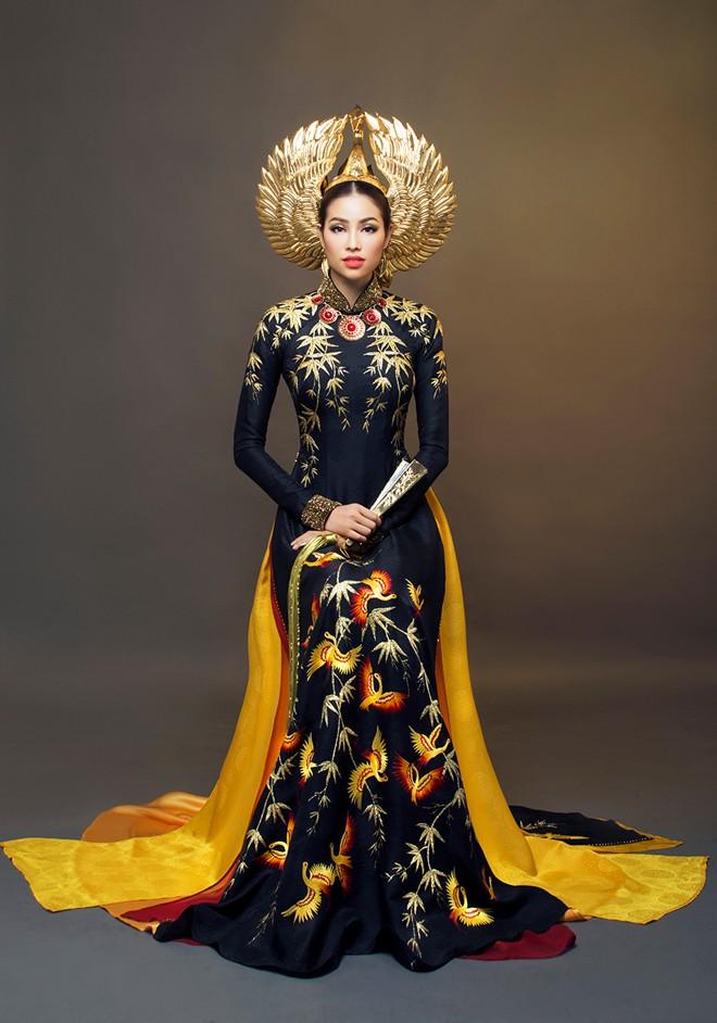 1449898161 1449888520 img 0710 Trang phục dân tộc của mỹ nhân Việt ở đấu trường quốc tế