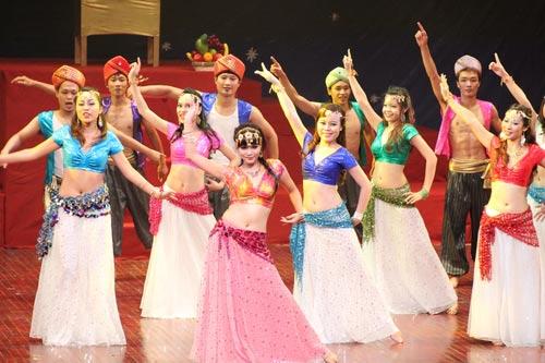 Múa bụng: Bí quyết khỏe đẹp cho chị em - 1