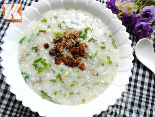 5 món cháo nóng hổi, bổ dưỡng cho bữa sáng - 7