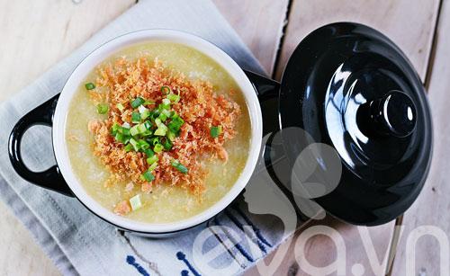 5 món cháo nóng hổi, bổ dưỡng cho bữa sáng - 12