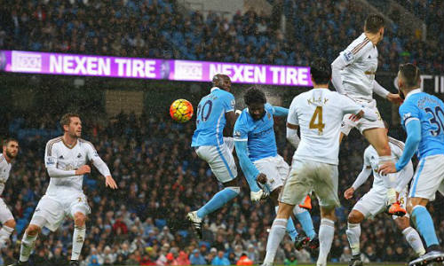 Video Man City vs Swansea - 1