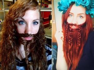 Bạn trẻ - Cuộc sống - Trào lưu bện tóc thành râu của các thiếu nữ xinh đẹp