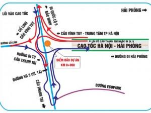 """Tin tức trong ngày - """"Bí kíp"""" tránh đi lạc khi qua các nút giao cao tốc HN – HP"""