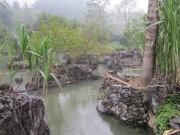 """Du lịch - Phát hiện suối nước nóng """"cảnh đẹp như tranh"""" ở Thanh Hóa"""
