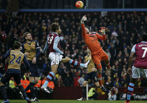 video Aston Villa vs Arsenal - 1