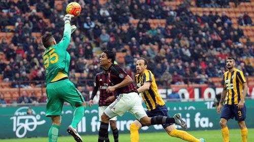 Milan - Hellas Verona: Tội đồ De Jong - 1