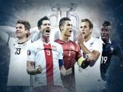 Bóng đá Đức - EURO 2016: Anh đấu xứ Wales, Đức & Pháp dễ thở
