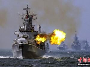 Hải quân TQ ồ ạt tập trận bắn đạn thật tại Biển Đông