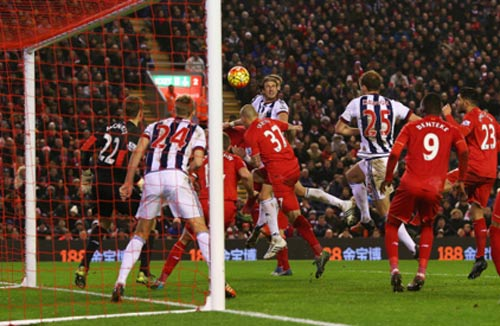 video liverpool vs west brom - 1