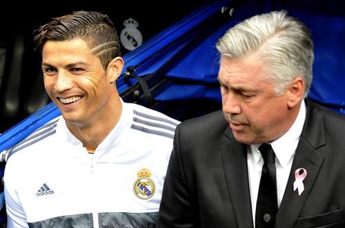 Vì Ronaldo, MU sẵn sàng đón Ancelotti thay Van Gaal - 1